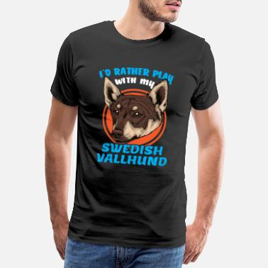 Swedish Swedish Vallhund Swedish Vallhund - Men's Premium T-Shirt