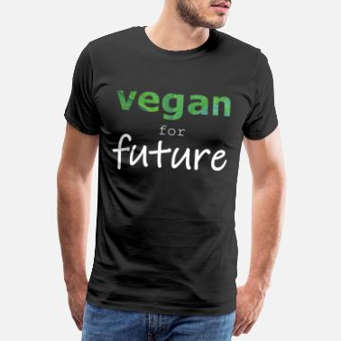 Freedom Of Expression vegan for future - Men's Premium T-Shirt