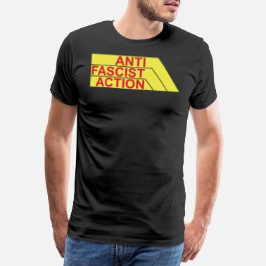 Action Anti fascist action - Männer Premium T-Shirt