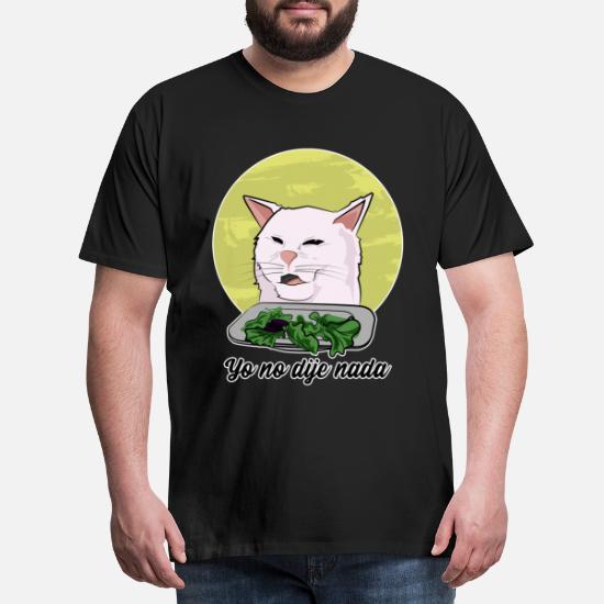 Katten meme 2019 Premium T shirt mænd   Spreadshirt