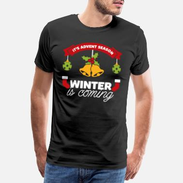 Advent Advent - Männer Premium T-Shirt