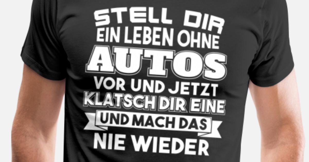 Leben ohne Autos Männer Premium T-Shirt | Spreadshirt