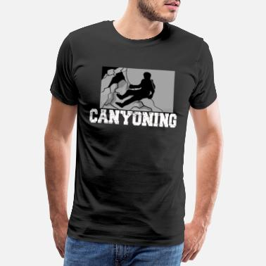 Canyoning Cadeau d'escalade alpiniste Canyoning Allgäu - T-shirt Premium Homme