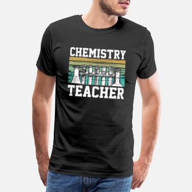 Element Chemistry Teacher science teacher - Männer Premium T-Shirt