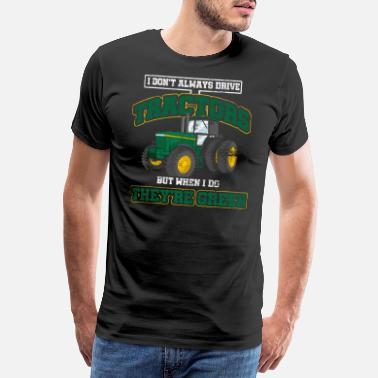 d64c8b97 Traktor Traktor bonde bonde landbruk gave - Premium T-skjorte for menn