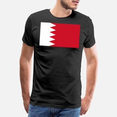 Mp3 Flag of Bahrain. - Men's Premium T-Shirt