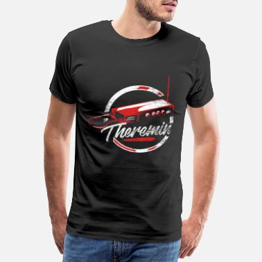 Russian Theremin gift - Men's Premium T-Shirt