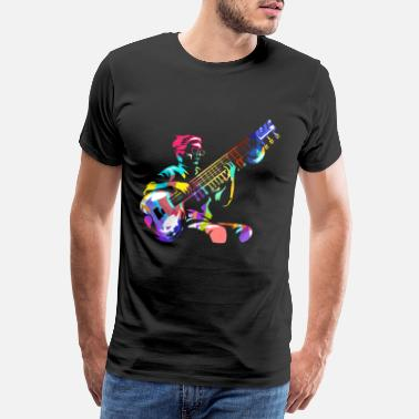 Musical Sitar - Men's Premium T-Shirt