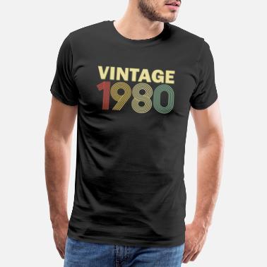 Birthday Vintage 1980's gift - Men's Premium T-Shirt