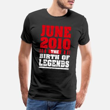 2010 10th Birthday Gifts The Birth Of Legends Awesome S - Men's Premium T-Shirt