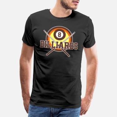 Bar Pub billiards - Men's Premium T-Shirt