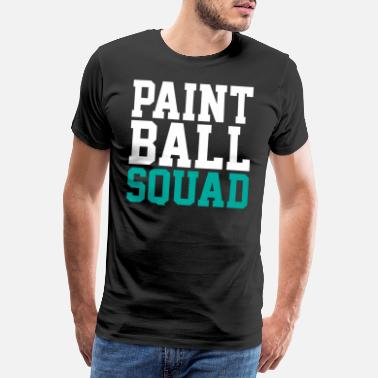 Kanone Paintball-Team - Männer Premium T-Shirt