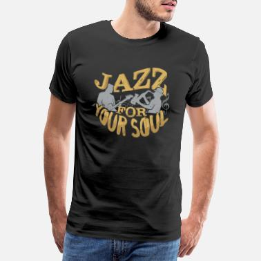 Pop Rock Jazz for din sjel - Premium T-skjorte for menn