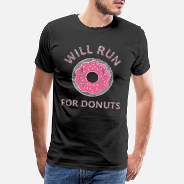 Pâtisseries Donuts collations - T-shirt Premium Homme