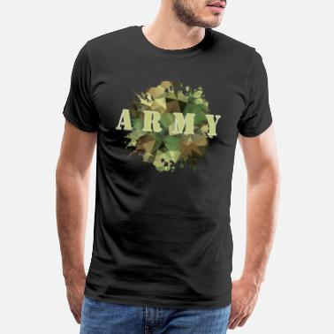 Bundeswehr Army Bundeswehr Warrior Camouflage - Men's Premium T-Shirt