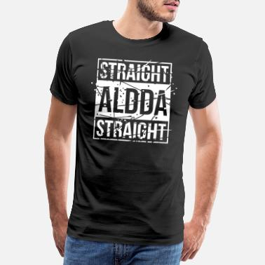 Cat Lover Straight Aldda - Männer Premium T-Shirt