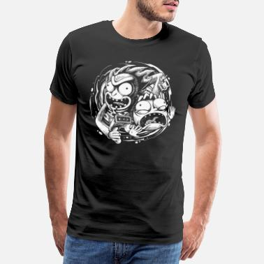 Rick Rick And Morty Reisen In Andere Dimensionen - Männer Premium T-Shirt