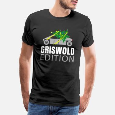 Pickup Cyber Pickup Truck Griswold Edition - Premium T-shirt herr
