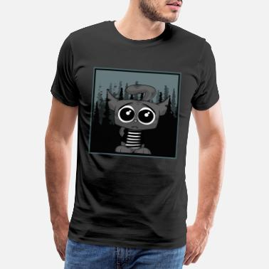 Images Gaies CAT CATER CATS CARTOON COMIC animaux drôles - T-shirt premium Homme