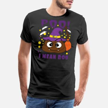 Funny Skull The Cool and Awesome Halloween costume party idea - Men's Premium T-Shirt