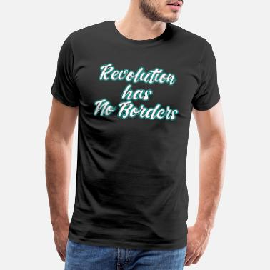 Riot This is the awesome revolutionary Shirt Those who - Men's Premium T-Shirt