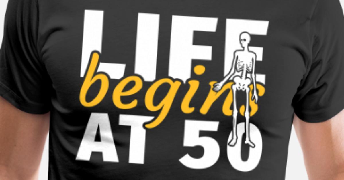 50 års fødselsdag Femogtyvende sjov gave Premium T-shirt
