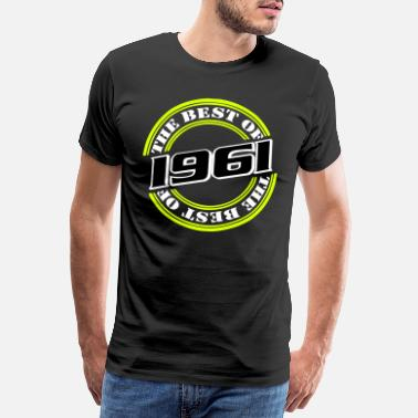 60er 1961 the best of ...+ - Männer Premium T-Shirt