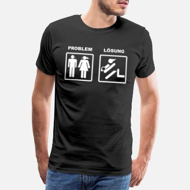 Problem Solution Problem with solution (girl edition) - Men's Premium T-Shirt