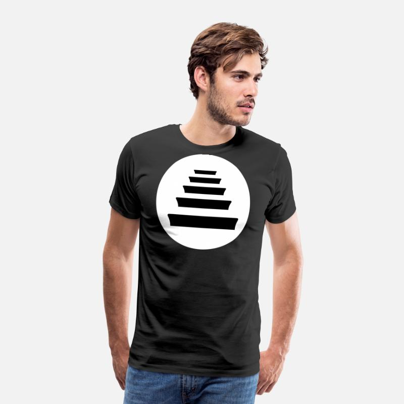 Rapero Camisetas - Quinto Escalon Hip Hop - Camiseta premium hombre negro b1c2c6e4c15
