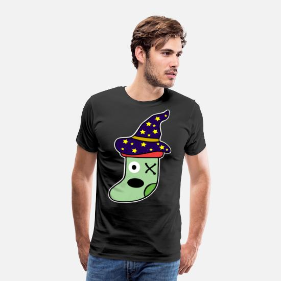 Witches Broom T-Shirts - monster - Men's Premium T-Shirt black