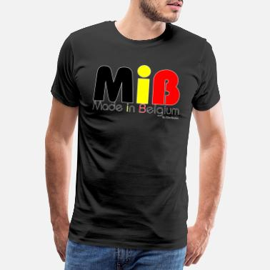 Belge MiB Made in Belgium by XGenTension - T-shirt Premium Homme