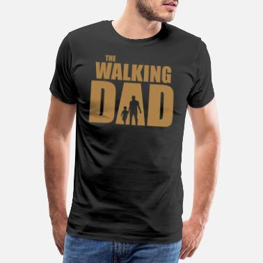 Walking The Walking Dad - Premium koszulka męska
