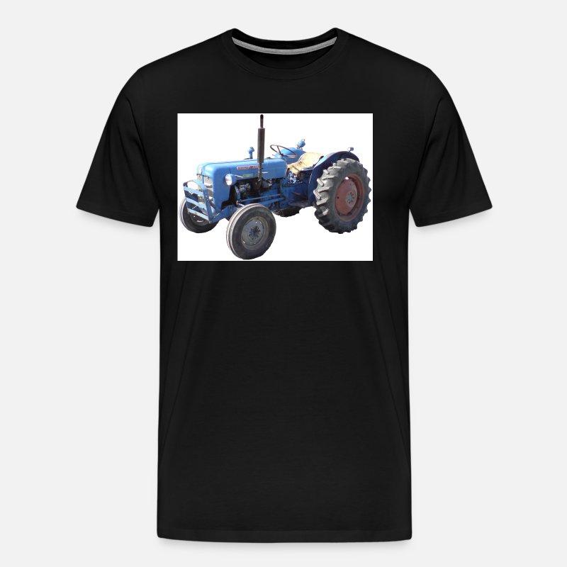 Mari Gamle Traktor Premium T skjorte for menn | Spreadshirt