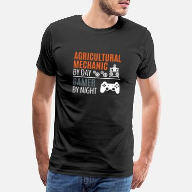 Fix Agricultural Mechanic T-Shirt & Gamer Gift - Men's Premium T-Shirt