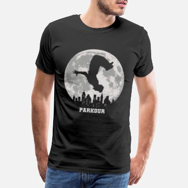 Parkour Idea de regalo de parkour freerunning parkour runner - Camiseta premium hombre