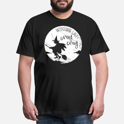 ... bruja - Camiseta premium hombre. detrás. detrás. Diseño. delante.  delante b9a8939d910