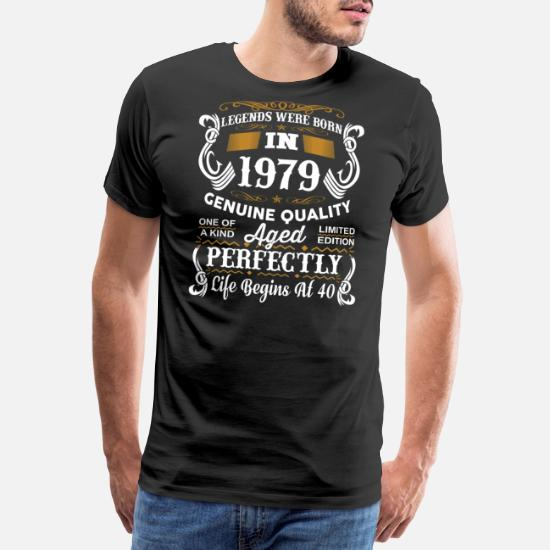Legends Are Born 1979 Mens Long Sleeve T-Shirt 40th Forty 40 Birthday Cool