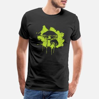 Youth Mushroom Rare Food Agaric Forest Plant Morel - Men's Premium T-Shirt