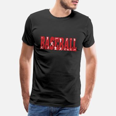 Field Baseball Positions Season Gift Idea - Men's Premium T-Shirt