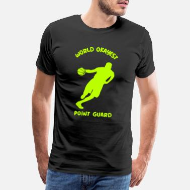 Short Funny Point Guard Crossover Moves Outfit - Men's Premium T-Shirt
