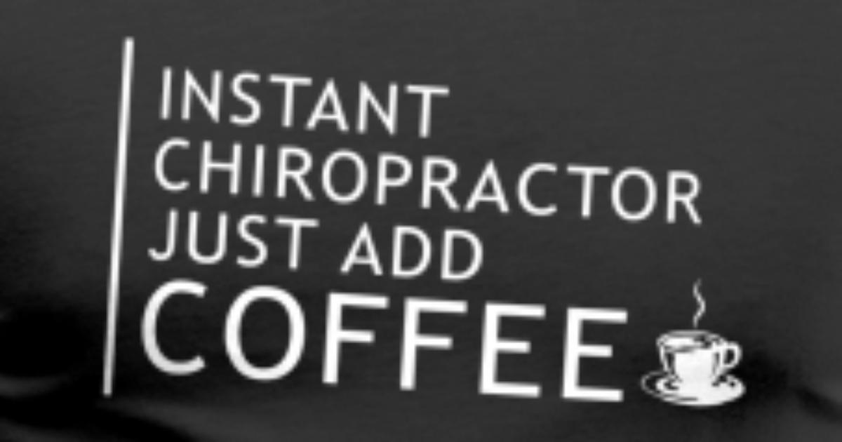 Kaffee Und Chiropraktiker Geschenk Männer Premium T Shirt Spreadshirt