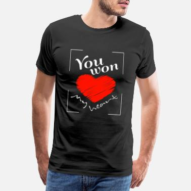 You won my heart - Men's Premium T-Shirt