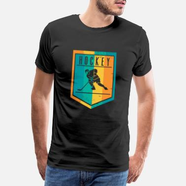 Destination Gift idea for ice hockey players - Men's Premium T-Shirt