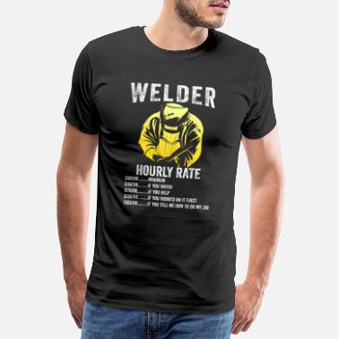 Callum Funny gift for welders - Men's Premium T-Shirt