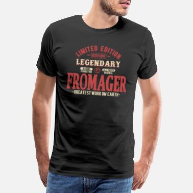 Fromage Fromager - T-shirt premium Homme