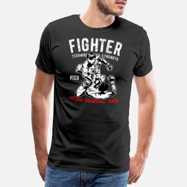 Fighter Fighter - MMA Fighter - Vechtsporten - Mannen premium T-shirt