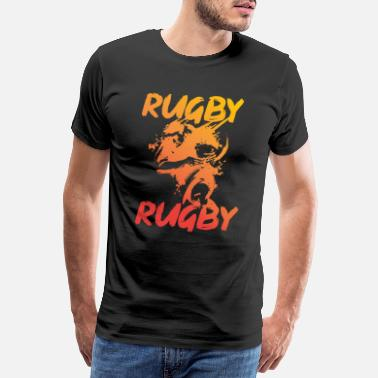 World Champion Rugby rugby american football - Men's Premium T-Shirt