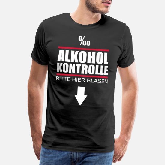 Pullover Alkohol Kontrolle I Fun I Sprüche I Lustig I Sweatshirt