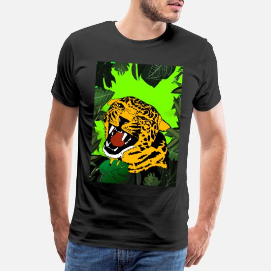 leopard Sport T skjorte for menn | Spreadshirt