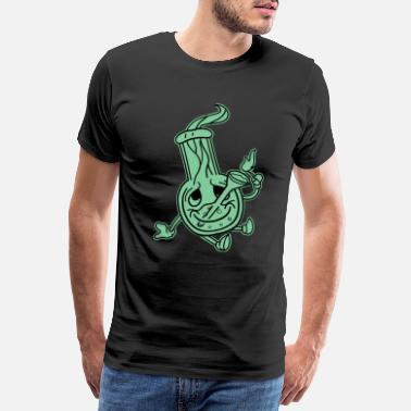 b55c2d8528cb07 Siostra Bong Canna Smoke Weed Pot High Hemp Ganja Gift - Premium koszulka  męska